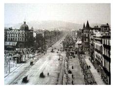 Passeig de Gràcia (Barcelona) 1880