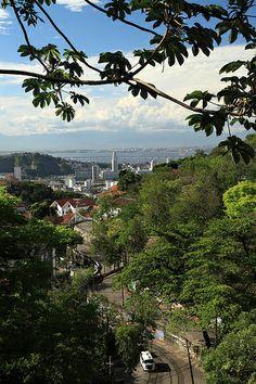 Partial view, Santa Teresa neighbourhood, Rio de Janeiro, Brazil