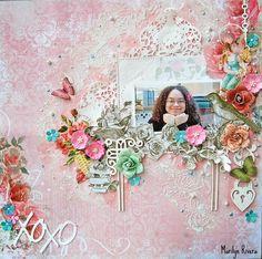 Marilyn Rivera - Treasuring Memories: My May work for My Creative Scrapbook-Part I - Lemoncraft paper