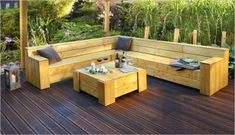 Fantastisch Garden Terrace Build Your Own   Garden Design
