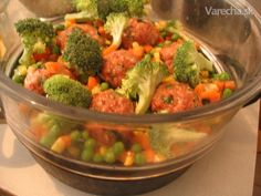 Obed z parného hrnca (fotorecept) Broccoli, Ale, Vegetables, Vegetable Recipes, Ales, Veggie Food, Veggies