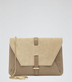 Reiss Jolene Cross Body Envelope Bag