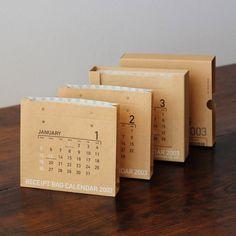 2003年/レシートバッグ・カレンダー | 株式会社一九堂印刷所