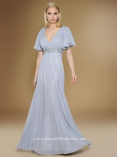 41888e7751b Mother of the bride dress by Rina Di Montella