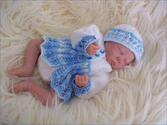 Baby Knitting Pattern  Early Baby or by PreciousNewbornKnits
