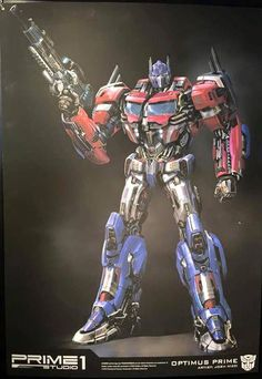 Prime 1 Studio Generation 1 Optimus Prime Statue Teaser - Transformer World 2005 - TFW2005.COM