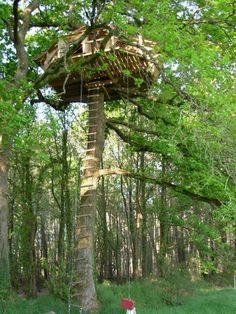Cabanes perchées Bretagne Dihan