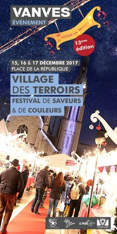 13ème Village des terroirs December 15 - December 17