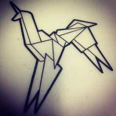 """32 Likes, 1 Comments - Will Taylor Barbour-Brown (@willbarbourbrown) on Instagram: """"Blade Runner origami unicorn. Nice little filler ready to go! #WillBarbourBrown…"""""""