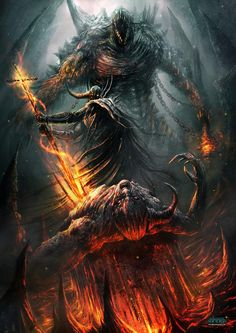 infierno el averno no perdona (Hell- the underworld does not forgive) | by dibujante_nocturno | wow!