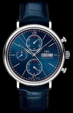IWC Portofino Chronograph 2500 Piece edition Stainless steel Automatic
