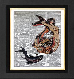 Hey, I found this really awesome Etsy listing at https://www.etsy.com/listing/162970287/sailor-jerry-forget-me-not-artwork-mixed