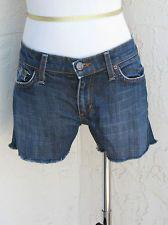 Joe's Jeans size 26 blue denim cut off short daisy dukes low rise stretch