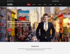 Corlate Free Bootstrap Template - Responsive Web Templates - HTML, Bootstrap, Wordpress and eCommerce Templates Ecommerce Template, Html Templates, Web Design, Cool Themes, Personal Portfolio, Responsive Web, Website Template, Business, Free