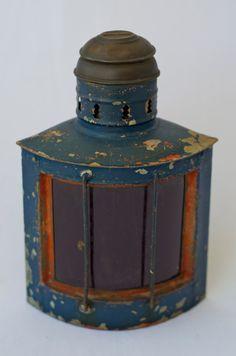 Antique Ship Lantern  Nova Scotia by boundforgloryresale on Etsy, $65.00