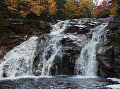 Mary Ann's Falls in Ingonish, Cape Breton, Nova Scotia