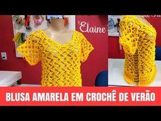 Fabulous Crochet a Little Black Crochet Dress Ideas. Georgeous Crochet a Little Black Crochet Dress Ideas. Crochet Bodycon Dresses, Black Crochet Dress, Crochet Blouse, Crochet Top, Crochet Bikini Pattern, Crochet Patterns, Blouse Models, Booties Crochet, Crochet Woman