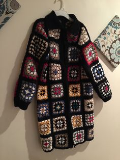 Crocheted jacket
