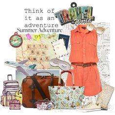 """Travel The World"" by valeria-87 on Polyvore"