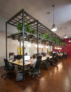 Typeform office by Lagranja Design