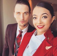 【イギリス】ヴァージン・アトランティック航空 客室乗務員 / Virgin Atlantic Airways cabin crew【UK】 Grace Perry, Photo And Video, Videos, Beautiful, Instagram