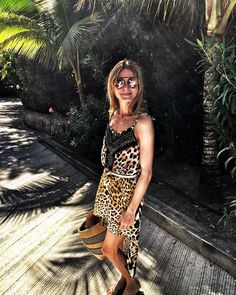 Tribal inspiration by Olivia Palermo! Featuring her WWL + OP Flower sunnies