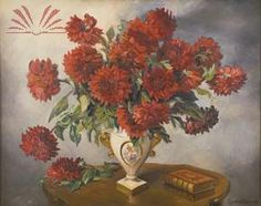 Jarro de flores -   Georgina de Albuquerque