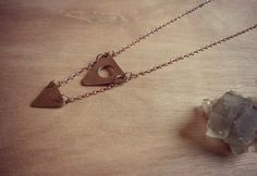 Triangles Necklace.