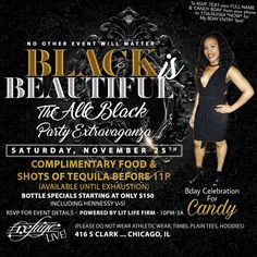 Candy BIRTHDAY Celebration THIS SATURDAY NOVEMBER 25th at @refugechicago!! #seekRefugeSATURDAYS #litLifeFirm #goodVIBES.... . . Complimentary Food and TEQUILA SHOTS b4 11pm! (Available until Exhaustion) ... . . #yourSaturdayNightEscape #chicago #music #fashion #hair #style #pioneer #nightlife #lounge #scorpio #sagittarius #birthday #bday #november #food #chicken #alcohol #tequila #cognac #whiskey #vodka #dancing #fun