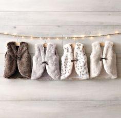 Luxe Faux Fur Vest - Restoration Hardware Baby&Child