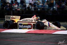 1985 GP Wielkiej Brytanii (Silverstone) Arrows A8 - BMW (Gerhard Berger)