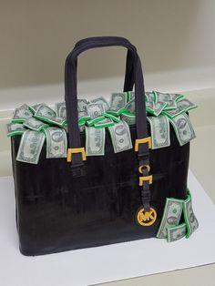 Michael kors purse cake! Contact Heather @ 804-283-4641