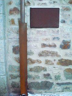 contraventana de ventana y cubre canalón en acero cortén www.tallereslobon.com