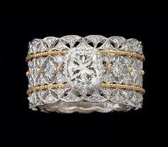 Buccellati Diamond Ring - Eternal Jewelry ~ Big Fun