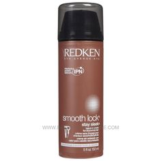 Redken Smooth Lock Stay Sleek Leave-In Cream 5 oz - Beauty Stop Online Coffee Bottle, Smooth, Leaves, Good Things, Styling Products, Cream, Beauty, Hair, Creme Caramel