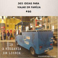 Ir à KidZania em Lisboa