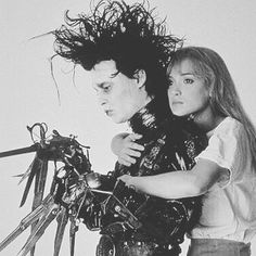 All the feels 🖤#winoforever 📽📼: Edward Scissorhands