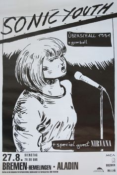 This is just neat. Sonic Youth / Nirvana poster