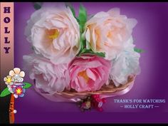 How to make tissue paper flowers tissue paper roses easy tutorial how to make tissue paper flowers shabby chic peonies do you know that peony is a national floral symbol of china country mightylinksfo