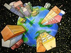 Art, middle school art projects, high school art, art lesson plans, e Middle School Art Projects, 7th Grade Art, Perspective Art, Ecole Art, Art Curriculum, Art Lessons Elementary, Elements Of Art, Art Lesson Plans, Art Classroom