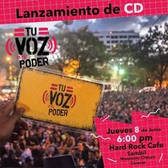 """Sin Mordaza y Redes Ayuda: Lanzamiento del CD """"Tu Voz Es Tu Poder"""" http://crestametalica.com/evento/sin-mordaza-y-redes-ayuda-lanzamiento-del-cd-tu-voz-es-tu-poder/ vía @crestametalica"""