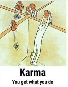 Karma is a conscious decision. They are good and bad Karma. Make the good choice always. Keep it positive! Karma Frases, Karma Quotes, Wisdom Quotes, True Quotes, Words Quotes, Funny Quotes, Sayings, Pictures With Deep Meaning, Art With Meaning