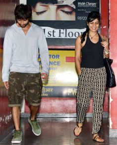 Shahid Kapoor's New Girl Friend or Girlfriend ? - Shahid has been laying low for a while now, until we spotted him at a suburban Mumbai theatre, with some interesting company. While the actor has refuted claims that the woman in question is his romantic interest, the pair seemed pretty comfortable with each other.