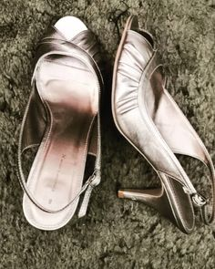 Was having a clear out and tidy up of the wardrobe and rediscovered my wedding shoes. I can still wear them........ if I walk very carefully 🙄 but I cannot believe I spent several hours with them on nearly eight years ago. Three and a half inch heels 👠!!!! I'm lucky if I can get away with one and a half these days. 😂🤣😂 #highheels #weddingshoes #bestdayofmylife Stiletto Heels, High Heels, Chainmaille, Wedding Shoes, Sterling Silver Jewelry, How To Wear, Fashion, Paragraph, Bhs Wedding Shoes