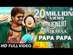 Nillayo Video Song | Bairavaa Video Songs | Vijay, Keerthy Suresh | Santhosh Narayanan - YouTube