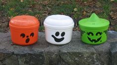 mcdonalds halloween pails #rocking