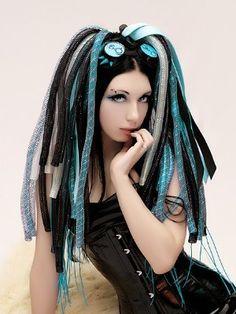 cybergoth hair madness