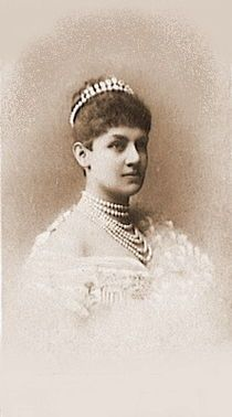 "Charlotte of Schaumburg-Lippe, Queen of Wurttemberg  Born: 10 October 1864, Ratiboritz  Daughter of: William & Bathildis of Anhalt  Married: William II (1848-1921)  Died: 16 July 1946  ""She is a good honest soul tho' rather too brusque, she seems to get on well with all the members of the Wűrttemberg family which shows great tact."" (Queen Mary of Great Britain)    ""Too jolly and off-hand for a Queen and so ugly besides."" (Augusta of Mecklenburg Strelitz)"