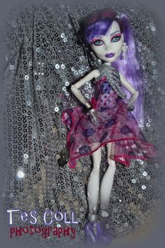 Monster High photo shoot