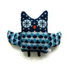 lambswool owl #2